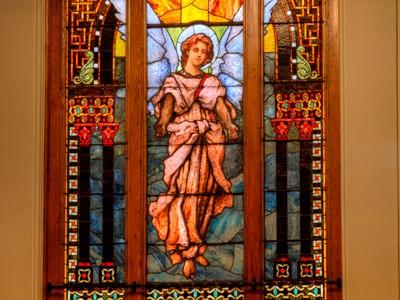 trinity methodist church stained glass denver