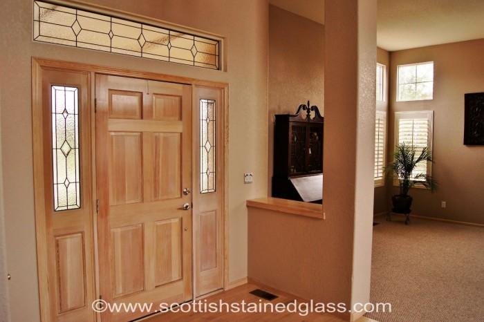 centennial stained glass door