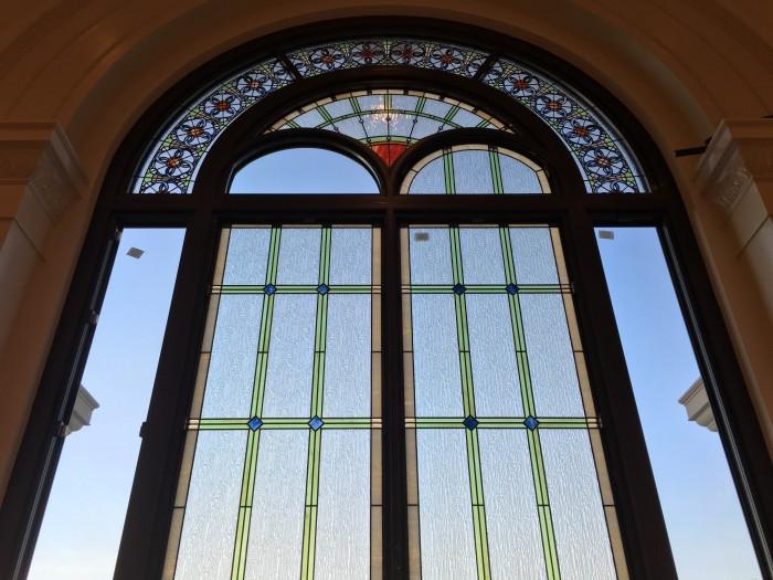 church stained glass centennial